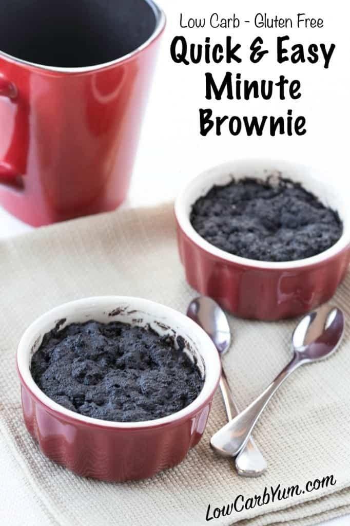 Keto Brownie In A Mug Cream Cheeses