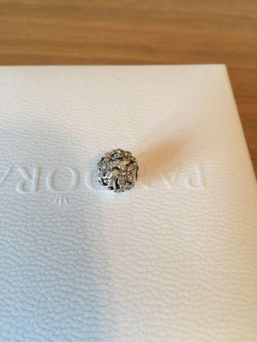 Genuine-Pandora-Dazzling-Daisy-Meadow-Silver-Charm-New