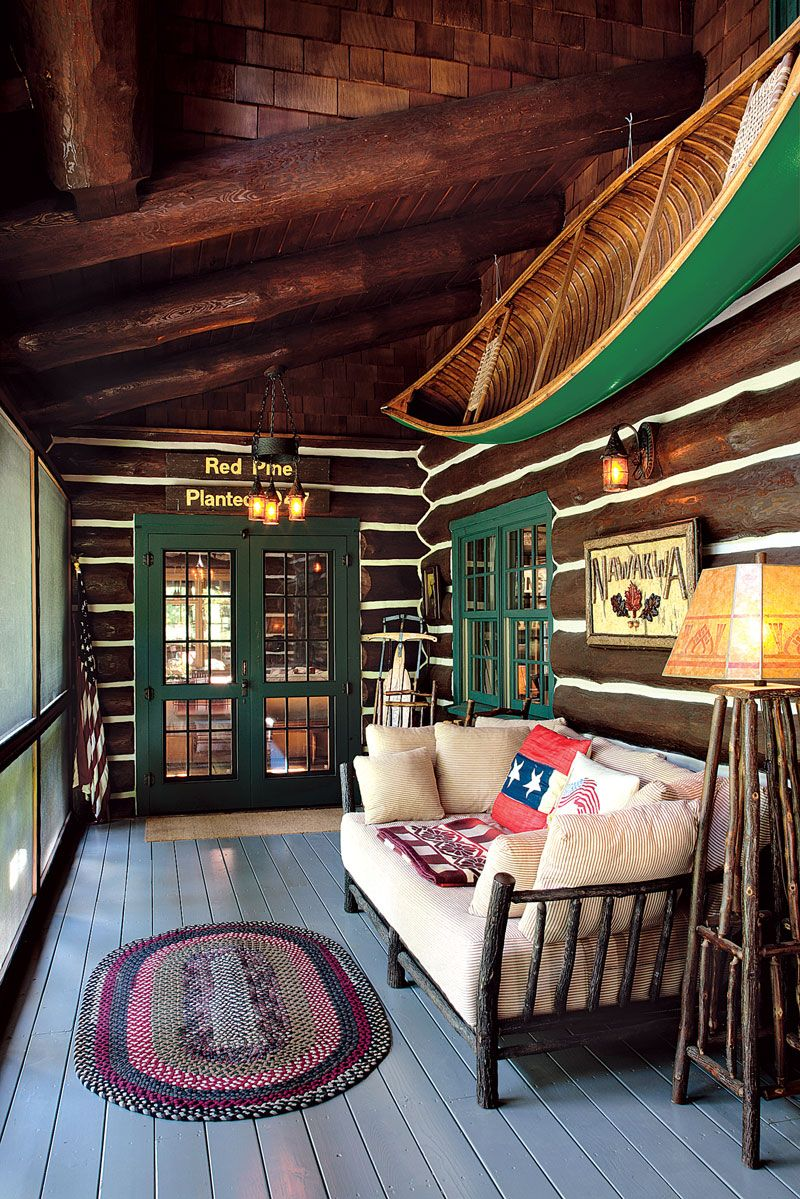 Photo of 5 Dreamy Log Home Sleeping Porches