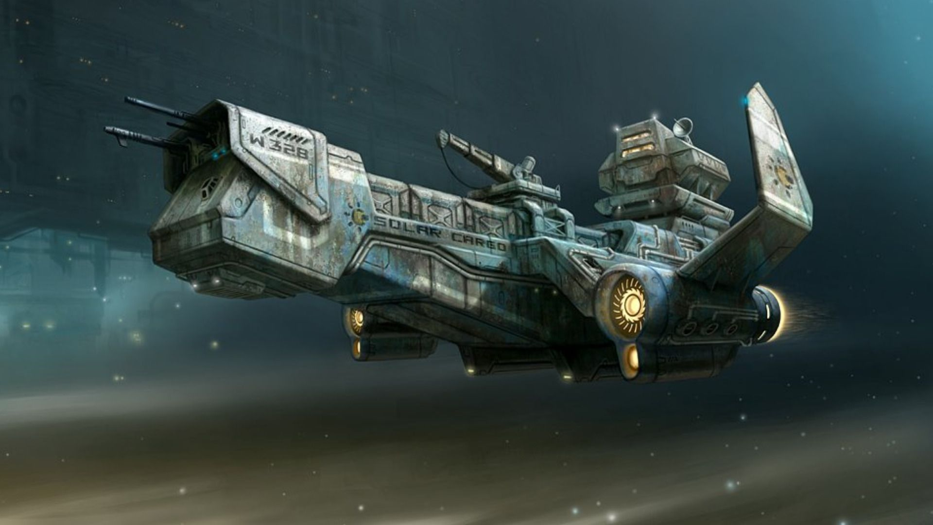 Sci Fi - Spaceship Wallpaper | Futuristic Ships ...