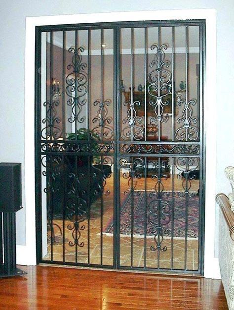 34 Trendy Patio Door Security French Double Door Design Double Front Doors Metal Front Door