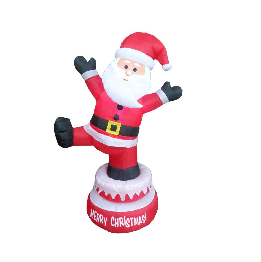 Grand Pere Noel OEM christmas decoration inflatable santa claus   Inflatable santa