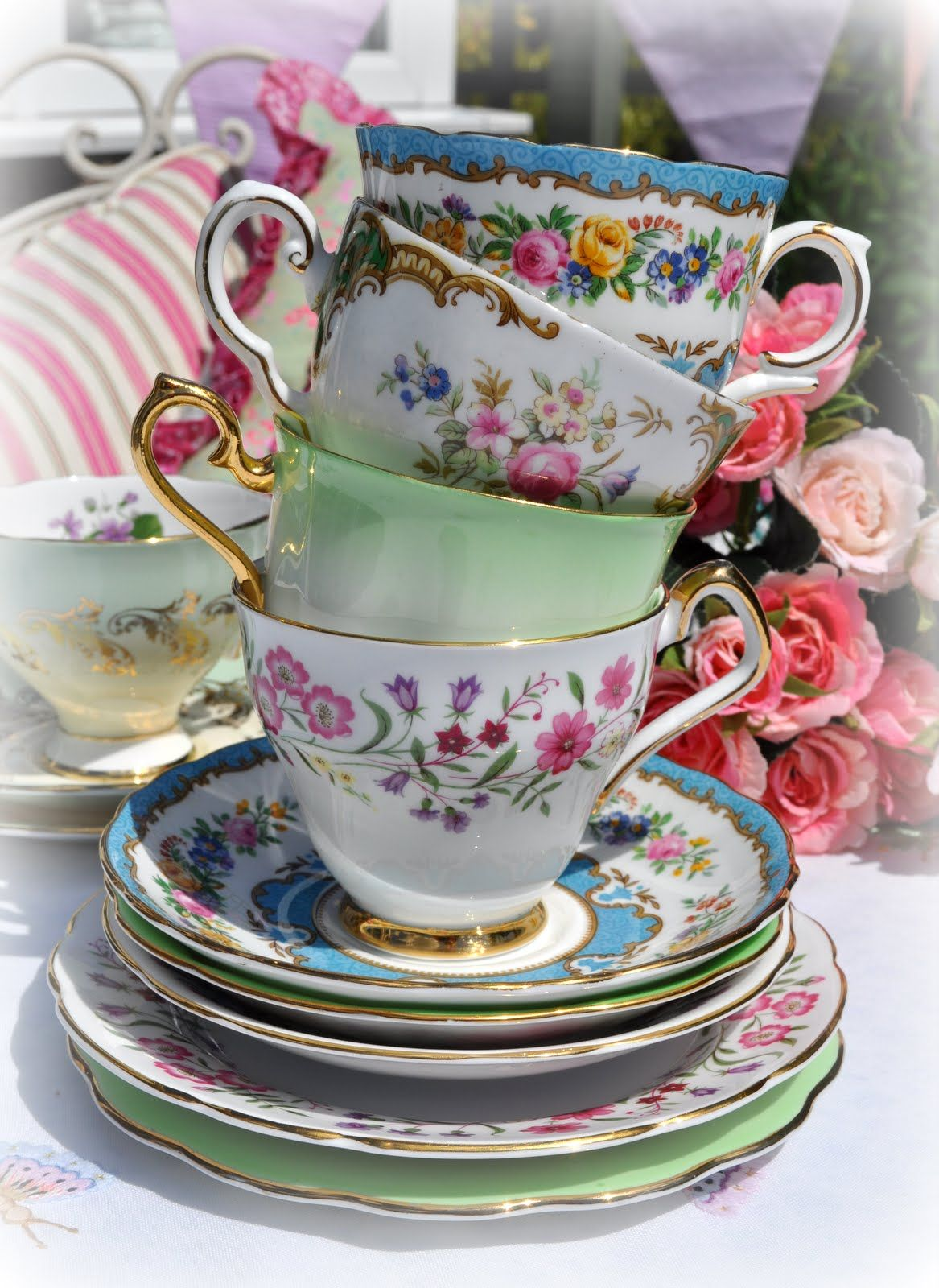 How to Sell an Antique Tea Cups New Home Concepts Tea Time