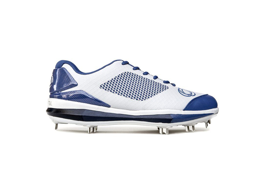 Athalonz Gf1 Metal Baseball Softball Cleats Navy Baseball Shoes Softball Shoes Play Baseball