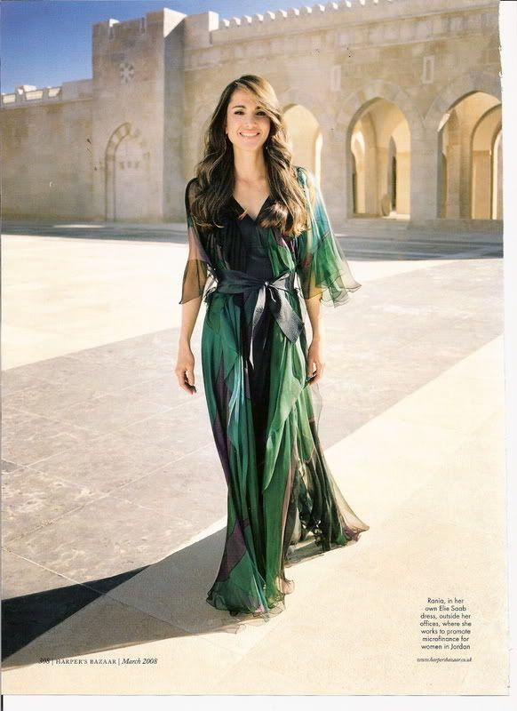 Rania eres y Reina serás, de Jordania. [La Reina Rania] <3