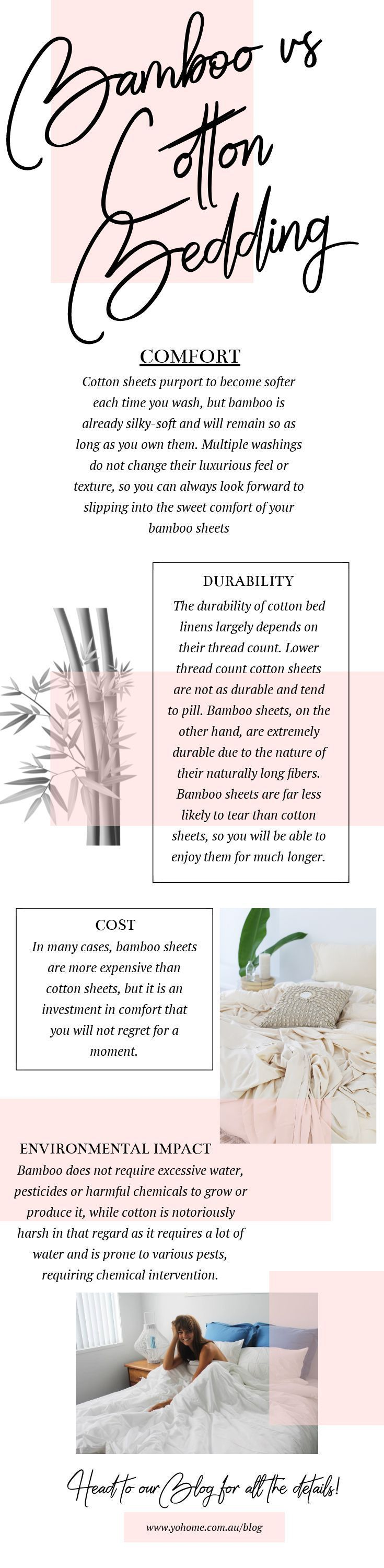 Bamboo Vs Cotton Sheets Which To Choose Cotton Sheets Bamboo Blog