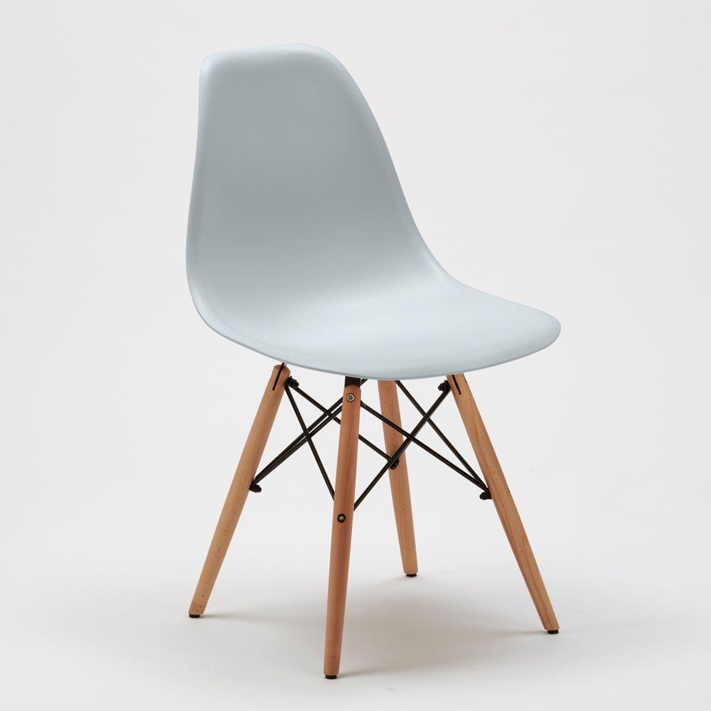 Sedia Eames Ufficio.Sedie Dsw Wooden Eames Design Cucina Bar Sala D Attesa E