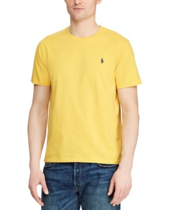 Polo Ralph Lauren Slim Fit Small Pony Pique Yellow