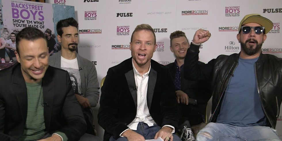 The Backstreet Boys took Cosmo's Backstreet Boys quiz and it was amazing