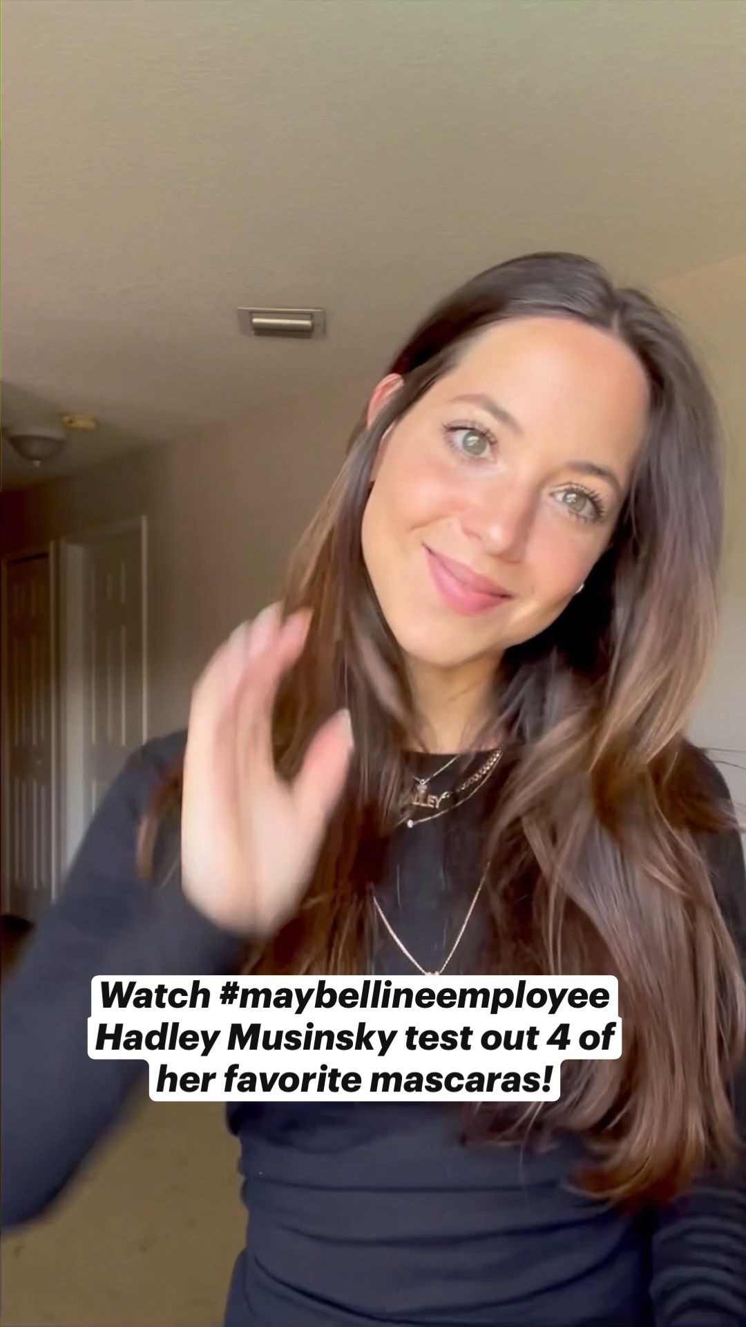 Mascara Monday with #maybellineemployee Hadley Musinsky