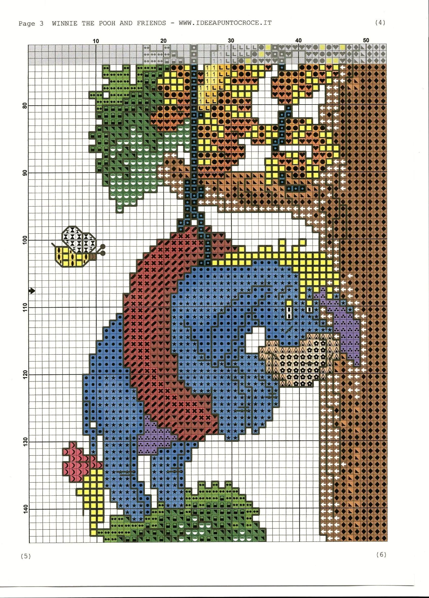 Disney Winnie the Pooh Ballpoint Pen Tree Climbing