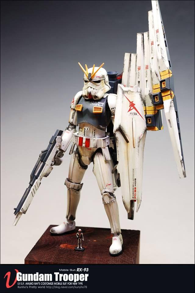 star wars crossover gundam
