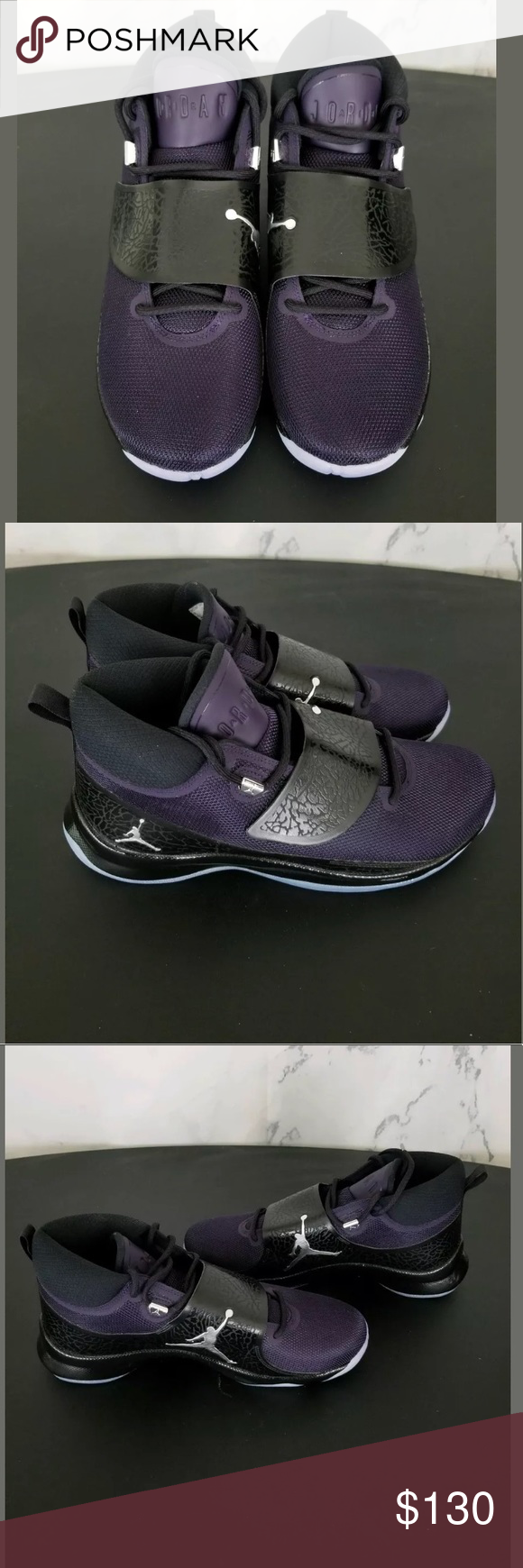 90998727533146 Nike Jordan Size 10 Superfly 5 PO Purple Dynasty Nike Jordan Size 10 Mens Superfly  5