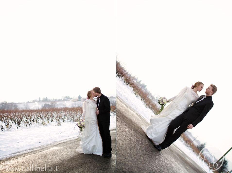 lovely french winter wedding