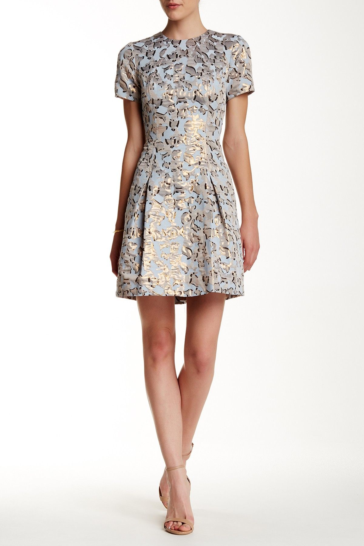 Vince Camuto   Jacquard Fit & Flare Dress   Nordstrom Rack   Playing ...