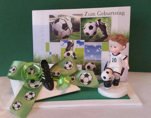 Geldgeschenk Fur Fussballer Fussballfans Bestehend Aus Einem