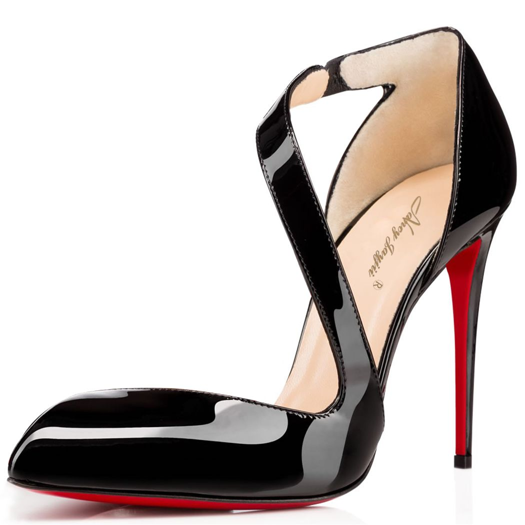 Nancy Jayjii black stiletto high heel distinct women shoes #NancyJayjii #Highheels #Womenshoes