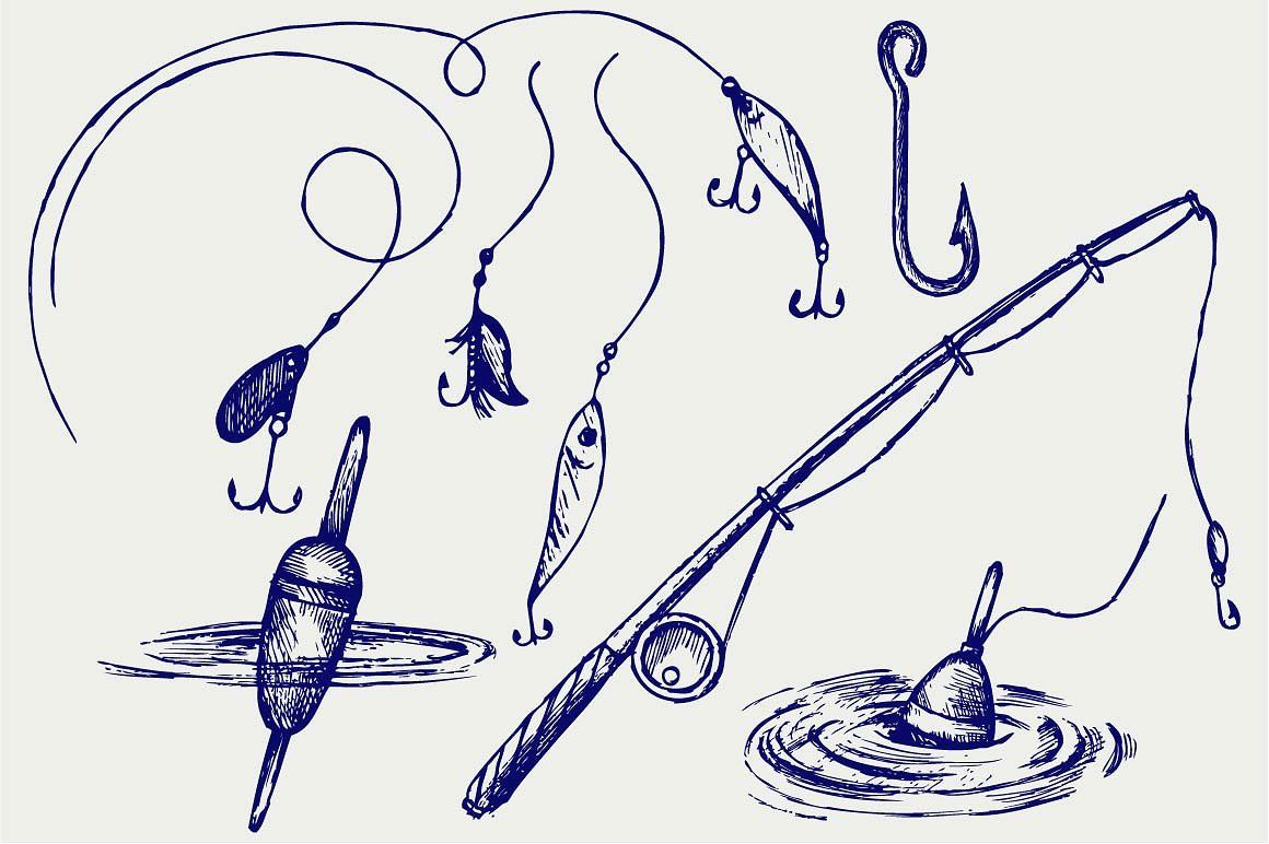 Fishing Sports Desenho Tatuagem Tatoo