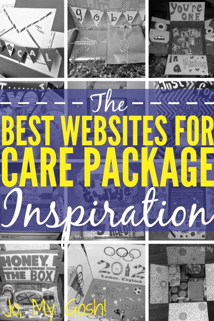 The Best Websites for Care Package Inspiration   Super Geschenkideen ...