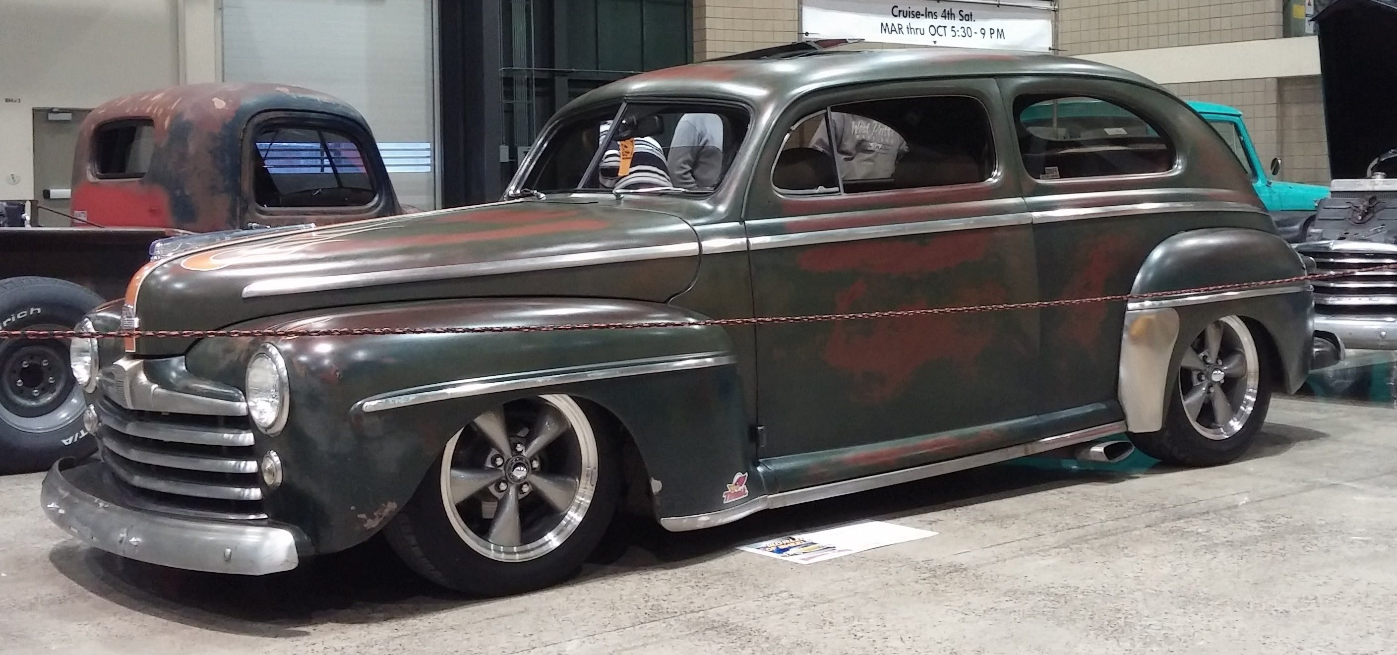 1947 Ford Super Deluxe 2 Quot Top Chop Rides Pinterest