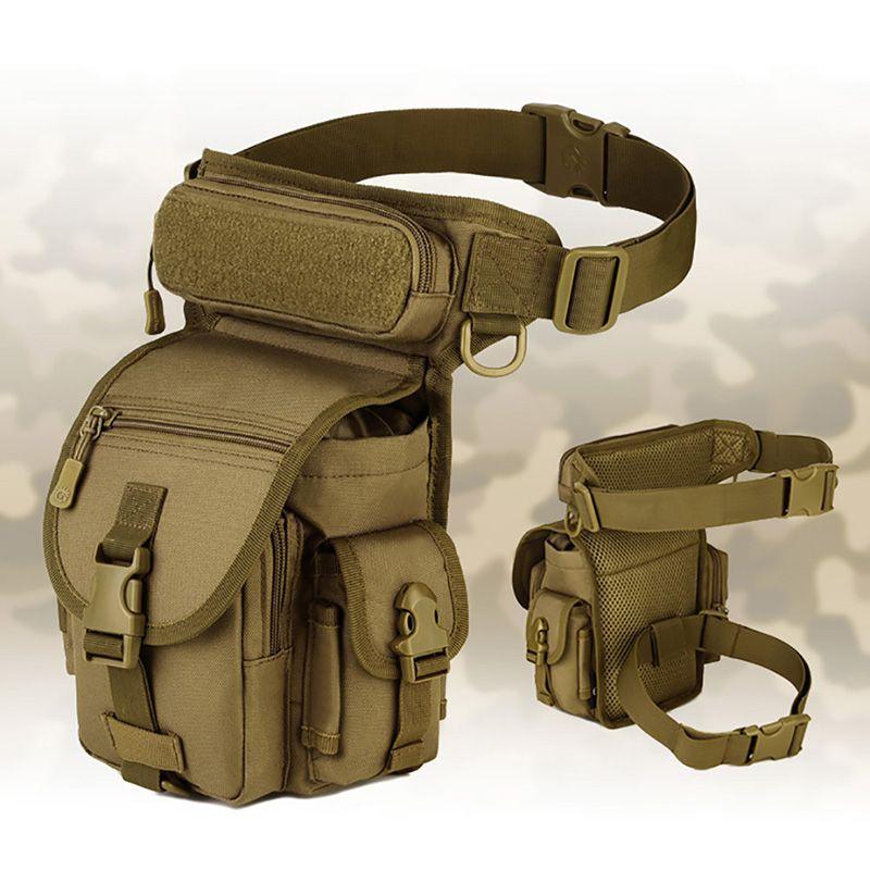 Cinturón deportivo de Molle Bolsos de cinturón casual para hombres portátiles