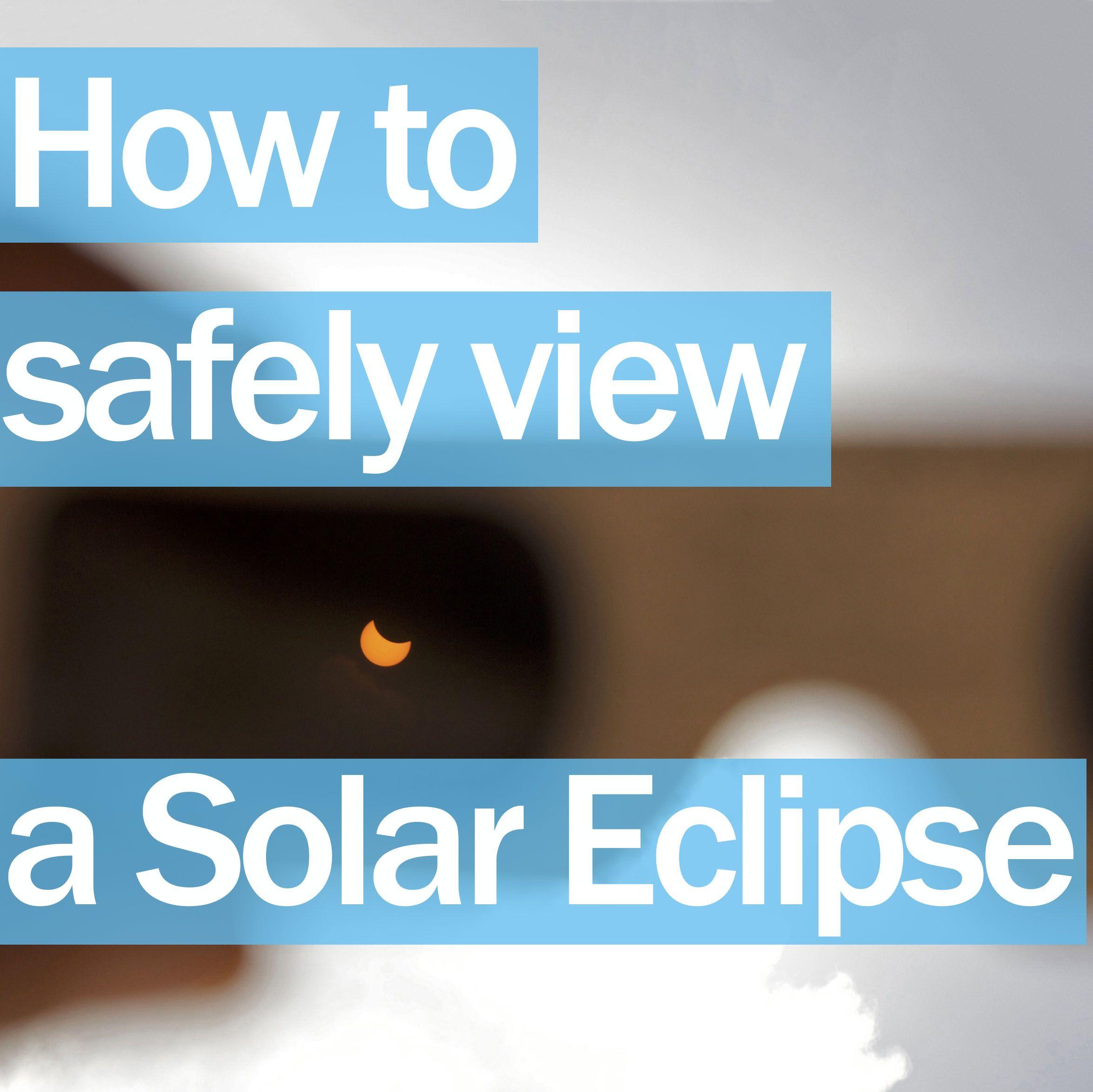 Safe Solar Observing