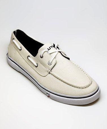Bone White Galley Boat Shoe  Men Boat ShoesShoes MenHoneyMens Casual  ShoesNautical