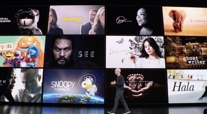 Apple Launching Apple TV+ And Apple Arcade For 4.99 Per