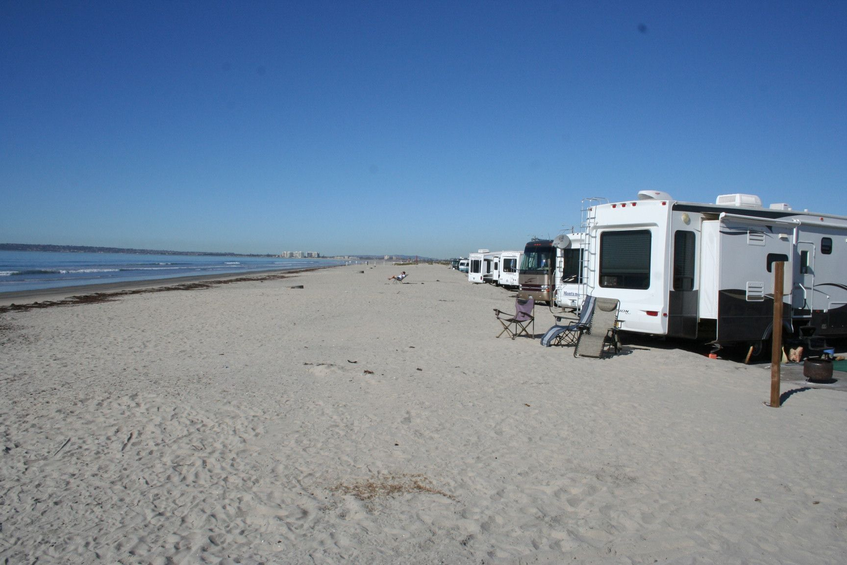 Silver Strand State Beach Offers Some Great Rv Front Camping Hotel Del Coronado Is A Few Miles North Famous For Its Ghost Lady That Roams The