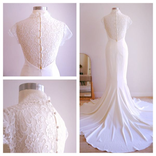 Nicole Miller Lauren Size 4 Wedding Dress | Nicole miller, Used ...