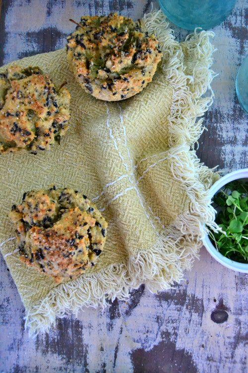 Cheesy Cumin Quinoa Bites   TheHealthyApple.com   #glutenfree #dairyfree #vegan #recipes #breakfastideas #cheese #quinoa
