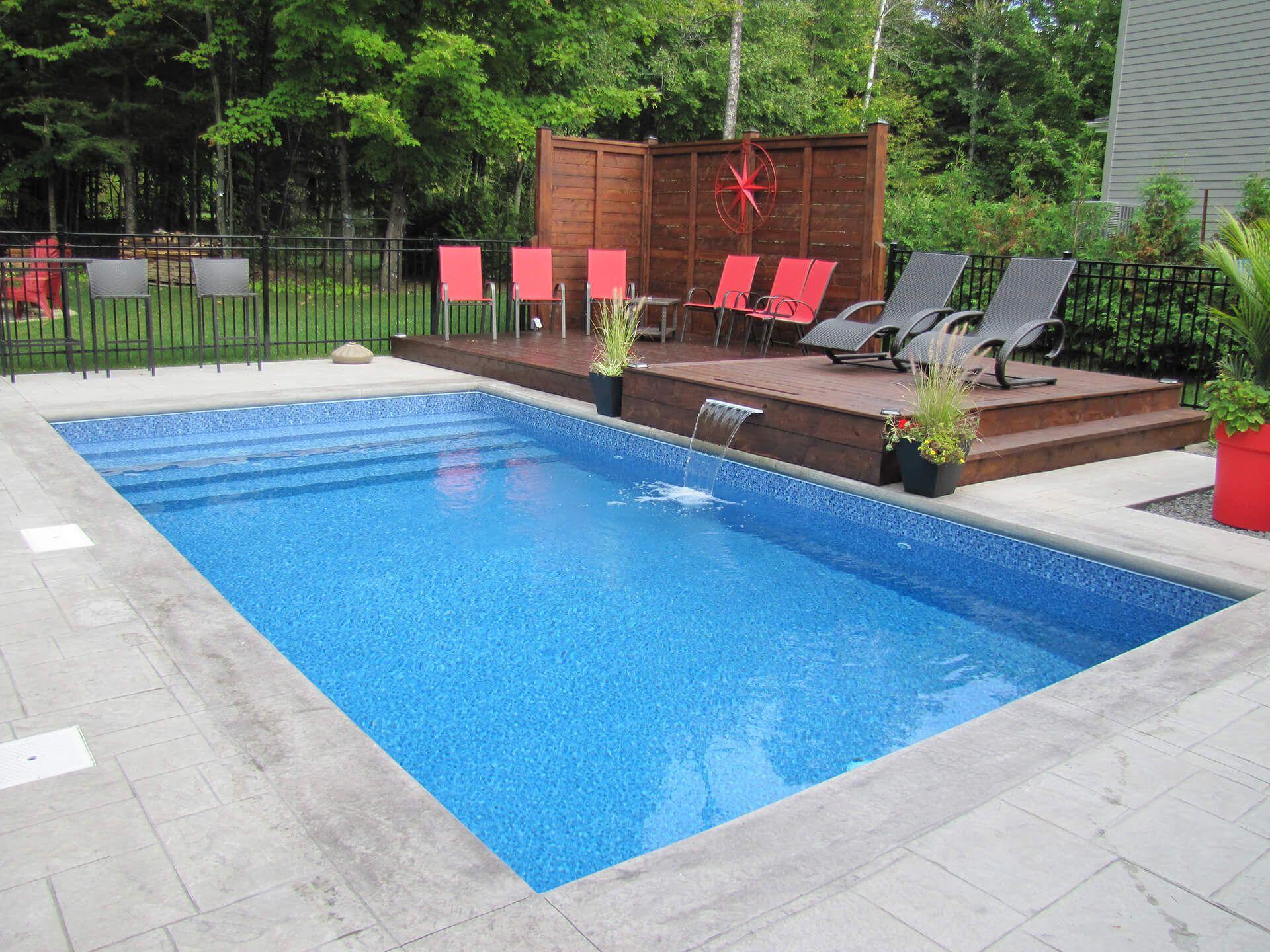 Piscines Es & Spas piscines val-morin signature   piscines creusées & spas