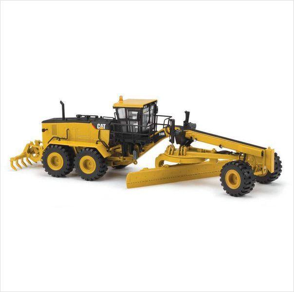 Norscot Caterpillar 24M Motor Grader Diecast Construction