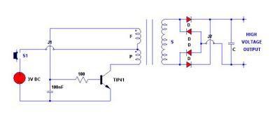 3V electronic stun gun circuit | stongun in 2019 | Circuit
