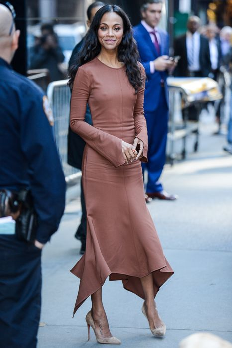 See How Celebrities Rock This Timeless Street Style Trend