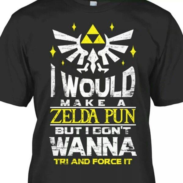Zelda pun shirt