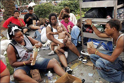 Hurricane Katrina Refugees, USA