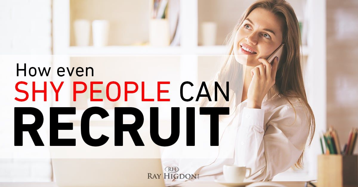 MLM Prospecting How Even Shy People Can Recruit Shy