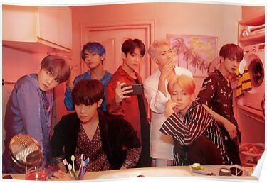 'BTS BOY WITH LUV' Poster by BTS-EMPORIUM