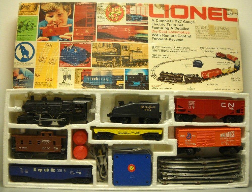 Lionel 1970s Electric Train Set Vintage Toys Vintage Toys Toy Train Electric Train Sets
