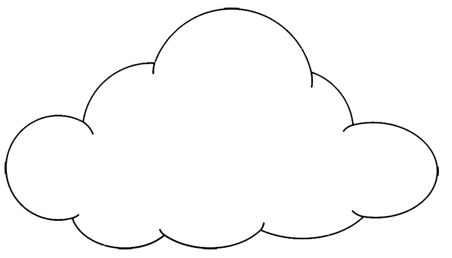 Outline Cloud Clipart Free Download Png Images Cloud Clipart In 2020 Image Cloud Free Clip Art Clip Art