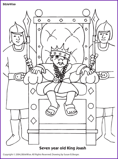 jehoshaphat bible coloring pages - photo#7