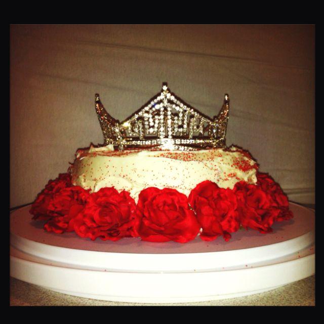 Miss America Cake Eat Cake For Breakfast Pinterest Cake