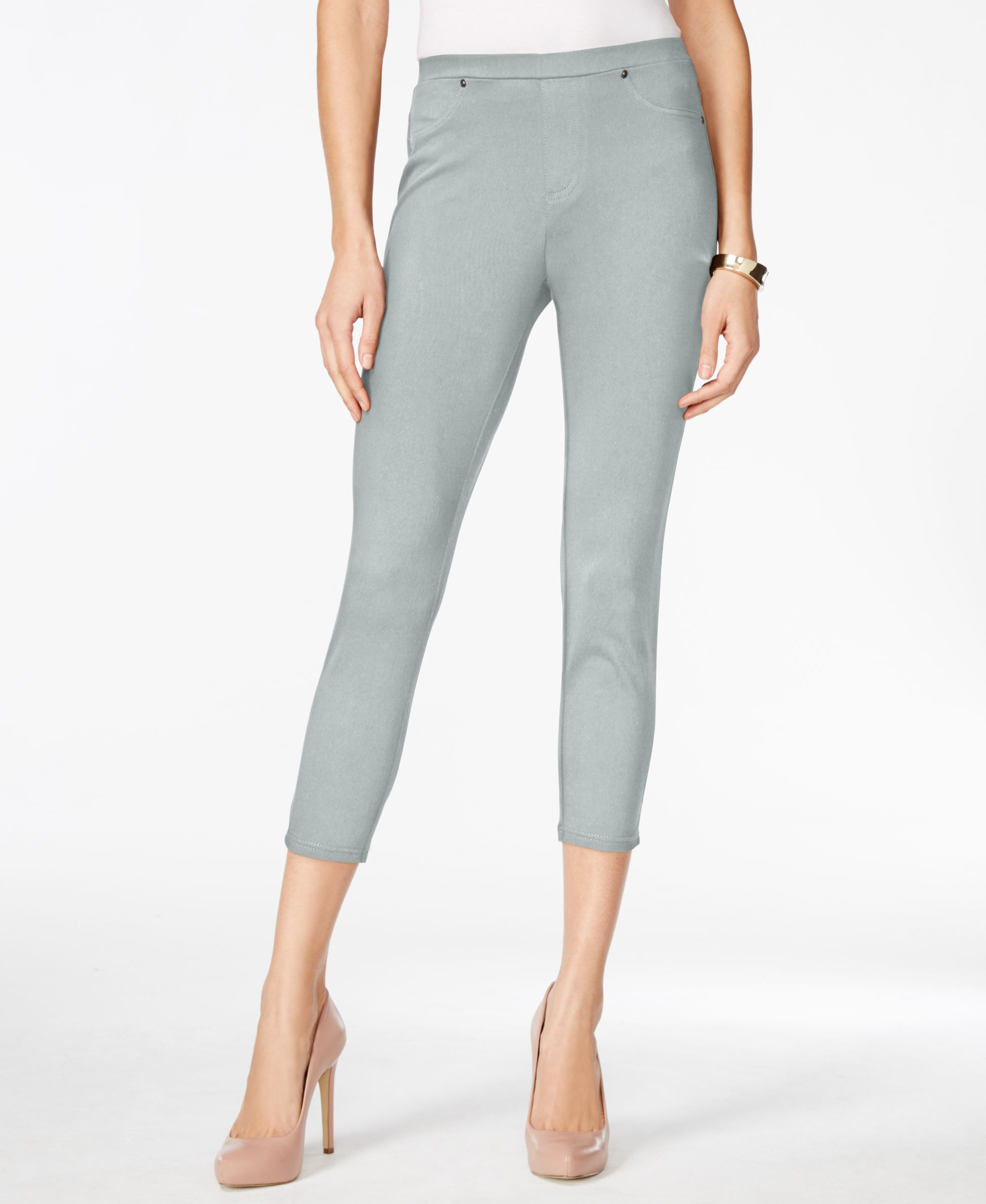 bedb3c2f13909 Twill Capri Leggings, Created for Macy's   Products   Capri leggings ...