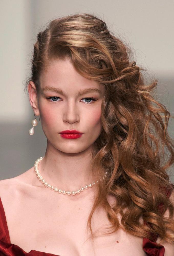 Perfecto peinados lisos Imagen de cortes de pelo estilo - Los peinados más bonitos para brillar en Nochevieja ...