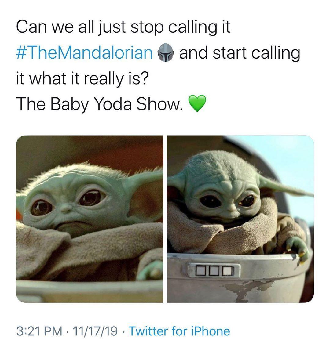 """Movie Thrill 🎃 on Instagram """"Baby Yoda stealin' the show"""