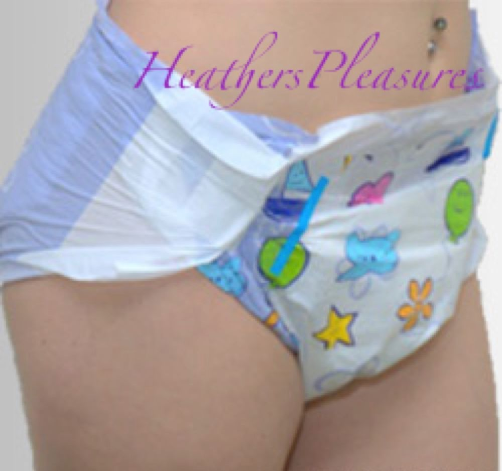 Adult baby diaper picture