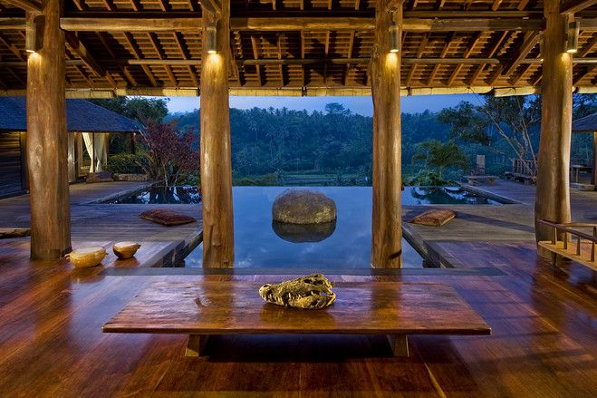 asia house of the day: a jungle retreat in bali, indonesia- photos