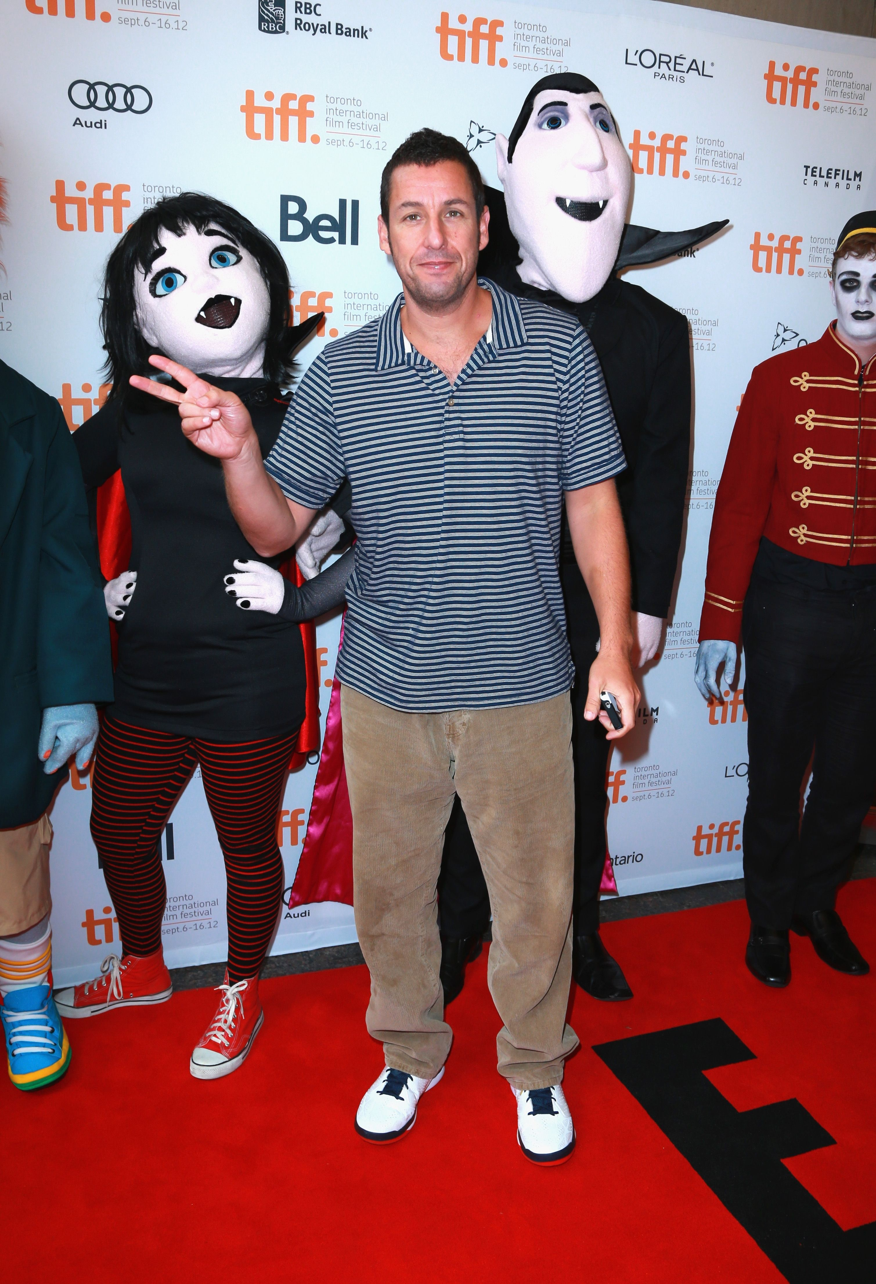Adam Sandler at the HOTEL TRANSYLVANIA premiere Adam