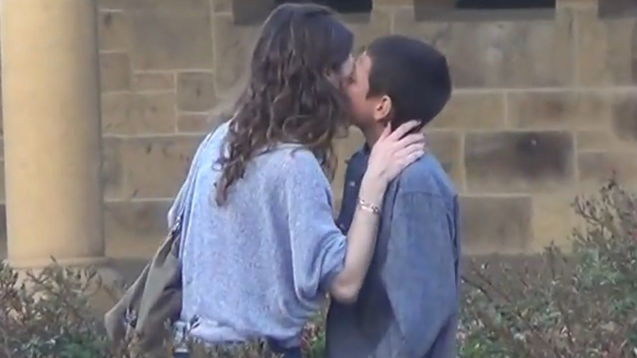 Pin On Prank Kissing